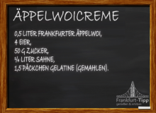 Äppelwoicreme