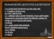 Frankfurter gestovtes Kalbfleisch