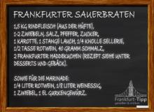 Frankfurter Sauerbraten