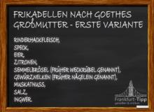 Frikadellen nach Goethes Großmutter - Erste Variante