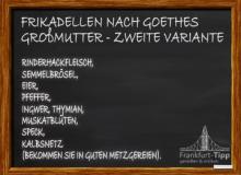 Frikadellen nach Goethes Großmutter - Zweite Variante