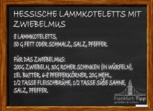Hessische Lammkoteletts mit Zwiebelmus
