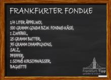 Frankfurter Fondue