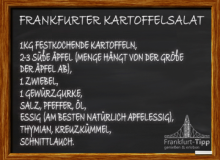 Frankfurter Kartoffelsalat