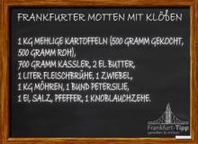 Frankfurter Motten mit Klößen