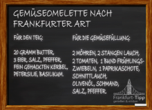 Gemüseomelette nach Frankfurter Art