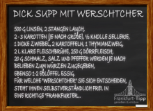 Dick Supp mit Werschtcher