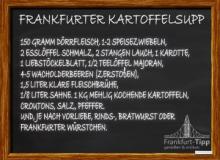 Frankfurter Kartoffelsupp