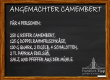 Angemachter Camembert