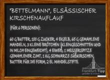 'Bettelmann', elsässischer Kirschenauflauf