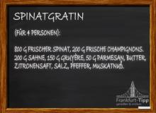 Spinatgratin