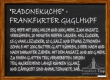 'Radonekuche' - Frankfurter Guglhupf