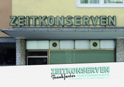 Zeitkonserven – Frankfurter Traditionsgeschäfte CoCon Verlag