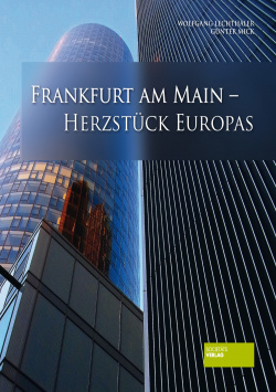 Frankfurt am Main - the heart of Europe Societäts Verlag