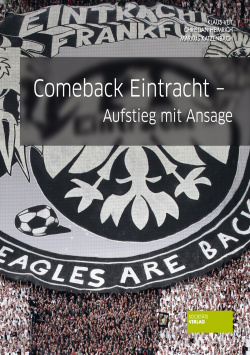 Comeback Eintracht - Ascent with Announcement Societäts Verlag