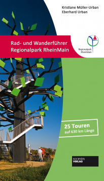 Cycling and hiking guide Regionalpark RheinMain Societäts Verlag