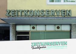 Zeitkonserven - Frankfurter Traditionsgeschäfte CoCon Verlag