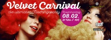 VELVET CARNIVAL - die ultimative Faschingsparty